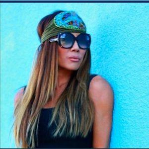 2 Boho Hippie Headbands | Festival Fair